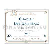 Chateau des Gravières rood Prestige 75cl 2012 Graves