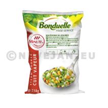 Macédoine de Légumes 2.5kg Bonduelle Minute Food Service Surgelés
