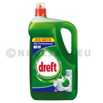 Dreft handafwasmiddel 5l professionel