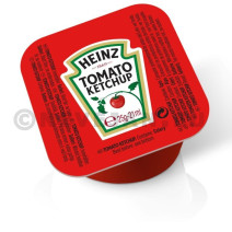 Heinz Tomato Ketchup porties in cups dippot 100x21ml