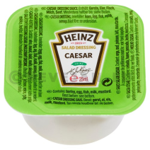 Heinz Caesar Dressing Dippot 100x25ml cups