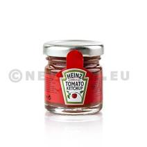 Heinz Tomato Ketchup porties in glazen potjes 34ml