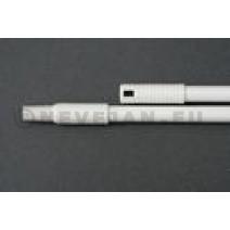 Hevacel witte glasvezel steel 140 cm