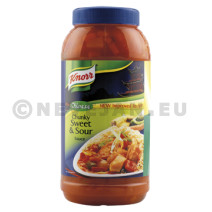 Knorr chunky sweet&sour 2x2.25l asian selection