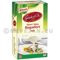 Knorr garde d'or roquefortsaus minute 1l brick