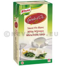 Knorr garde d'or witte wijnsaus minute 1l brick