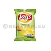 Lays crispy chips pyckels 20x45gr