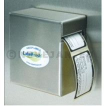 Labelfresh Mini dispenser inox (leeg)