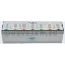 Labelfresh Pro Starterkit inox box + etiketten 70x45mm