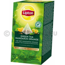 Lipton Green Tea Mandarin Orange EXCLUSIVE SELECTION 30st