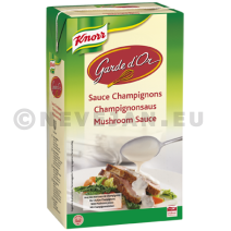 Knorr Garde d'Or champignonsaus Minute 1L Brick