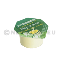 Mayonaiseporties cups 120x20ml Risso Vandemoortele