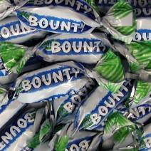 Miniatuur bounty 244st 2,5kg individueel verpakt