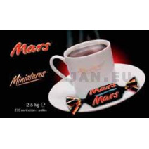 Miniatuur Mars 250st 2.5kg individueel verpakt