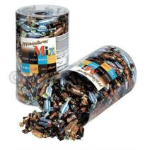 Miniatuur Mix Mars Twix Snickers Bounty 296st 3kg individueel verpakt