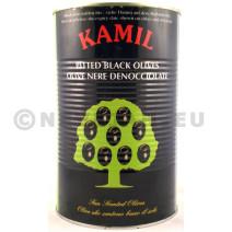 Zwarte olijven zonder pit 5L 30/33 blik