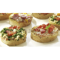 Panesco Mini Bruschetta Broodjes Mix 72x38gr 5001305