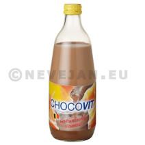 Chocovit gevitamineerde chocolademelk 50cl glazen fles