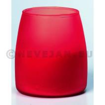 Soft Glow kaars rood 6st Spaas 50uur