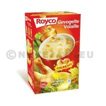 Royco Minute Soup gevogelte + korstjes 20st Crunchy