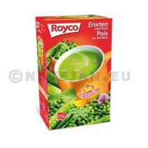 Royco minute soup erwten+ham 25st classic
