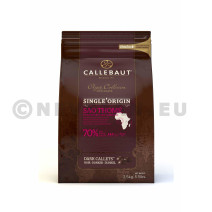Barry Callebaut chocolade Pastilles donker Sao Thomé fondant 2,5kg callets