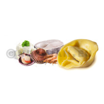 The Smiling Cook Tortelloni Giganti Frutti di Mare 3x1kg Diepvries D'Lis food