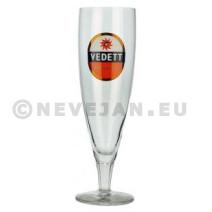 Glas Vedett 33cl op voet 6 stuks