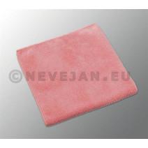 Vileda microtuff rood 38x38cm 5st microvezeldoek