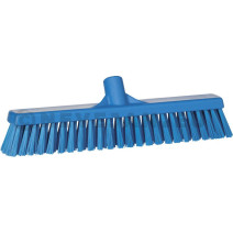 Vikan veegborstel blauw zacht & hard 40cm