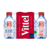 Water Vittel 24x33cl PET