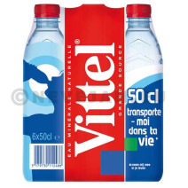 Water Vittel 24x50cl PET