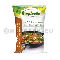 Wokgroenten Wok Indonesia 4x2.5kg Bonduelle Foodservice Diepvries