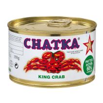 Chatka Fancy King Crab in blik 240ml