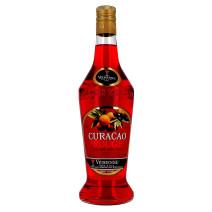 Vedrenne Curacao Rouge 70cl 25% Likeur (Likeuren)