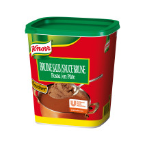 Knorr gourmet bruine saus pasta 1.25kg