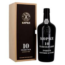 Porto Kopke 10 Years Old 75cl 20% Houten Kist (Porto)