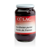 Colac Sundaes Aardbeienpuree 1.15kg bokaal