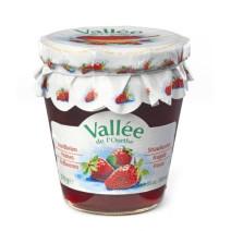 Aardbeien Confituur 370gr Vallee de l'Ourthe