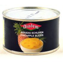 Ananas 4 schijven 0.25l diadem