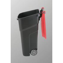 Vileda afvalbak Atlas 100L zwart 1st