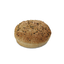 Black Pepper Hamburger Bun 13cm 36x90gr Pastridor 2638 Diepvries