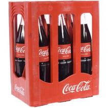 Coca Cola 6x1L krat met statiegeld