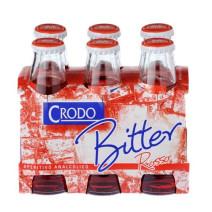 Crodo Bitter Rosso 10cl 0% aperitief zonder alcohol