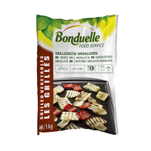 Gemengde Groentegrill Andalusie 1kg IQF Bonduelle Food Service Diepvries