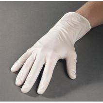 Handschoenen latex large 100st wit