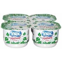 Inex Yoghurt gesuikerd halfvol 6x4x125gr