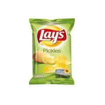 Lays crispy chips pickels 20x45gr