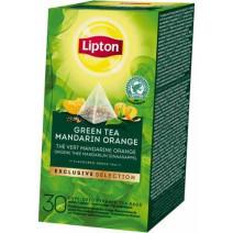 Lipton Green Tea Mandarin Orange EXCLUSIVE SELECTION 25st