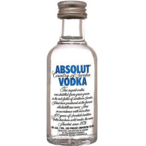 Miniatuur Vodka Absolut 5cl 40%